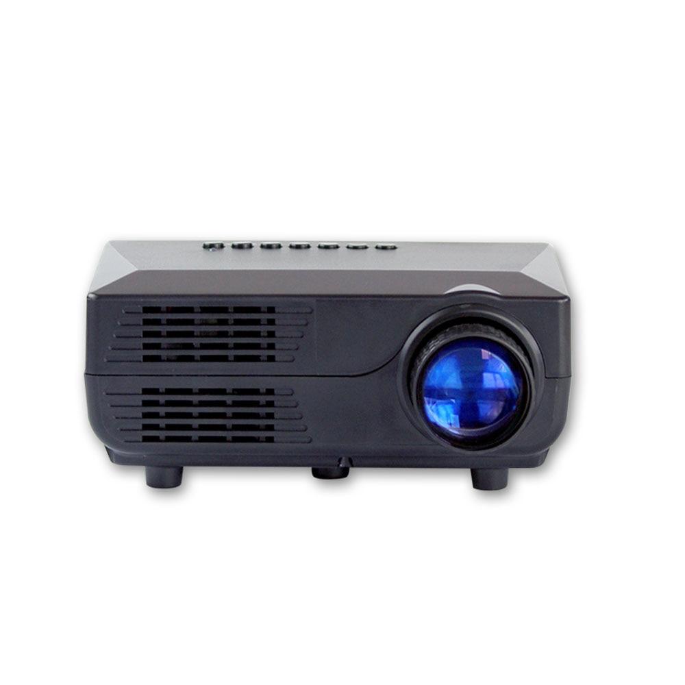 VS311 LCD LED Portable Projector 700 lumens 16:9 30W AV /SD/USB/VGA Home Theater 480*320 Multi-media Beamer/Proyector