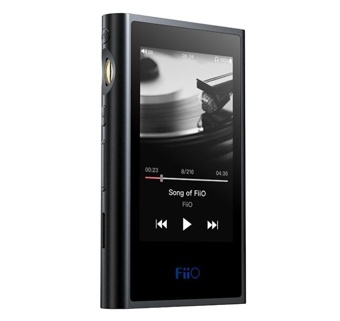 Livraison TF Carte + FiiO M9 Portable Haute-Résolution Audio Lecteur AK4490EN * 2 Soutien WIFI Bluetooth DSD128 USB audio DAC sortie SPDIF