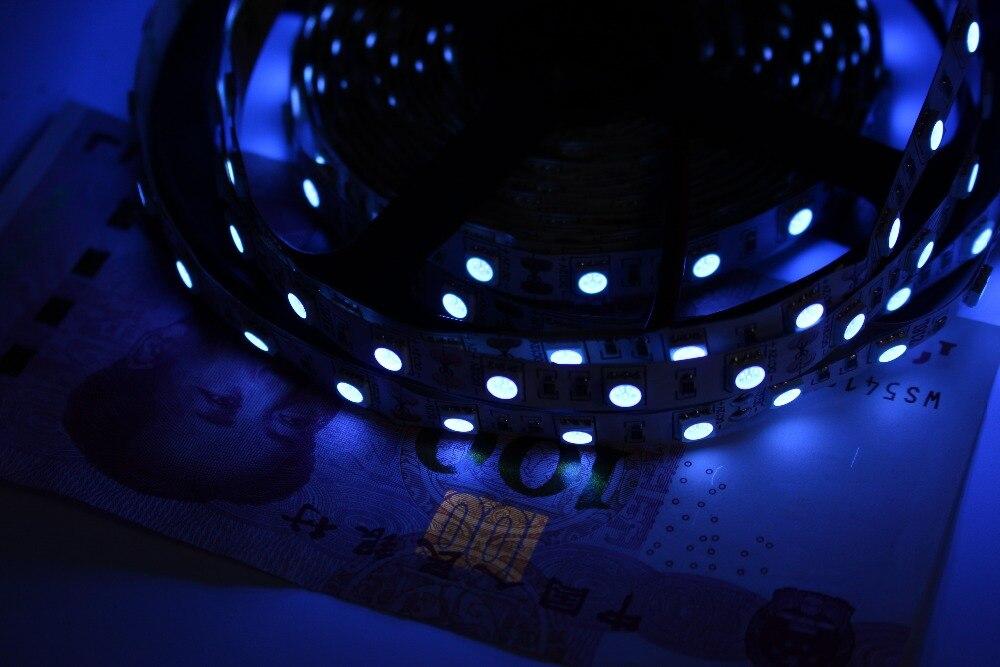 1/2/3/4/5 м 2835/3528 УФ-белый PCB Номера Warterproof 60 шт./м ультрафиолетового светоди ...