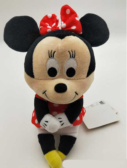 e88ba694767c ... Mickey Minnie hairy Disney dolls Winnie the Pooh row seated series  Plush stuffed Toys for children ...
