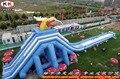 Крупнейший надувные trippo бегемота водной горкой для взрослых