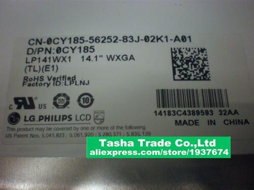 LP141WX1-TLE1 Laptop LCD LP141WX1 TLE1 LP141WX1 (TL)(E1)   1280*800 14.1 Screen лампочка филипс 007054 b1s 35w e1 04j dot 9285 141 294