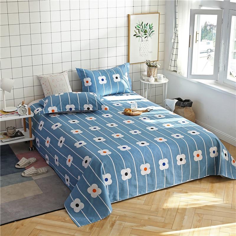Plain White Print Pattern Bedding Sets Polyester Fabric ...