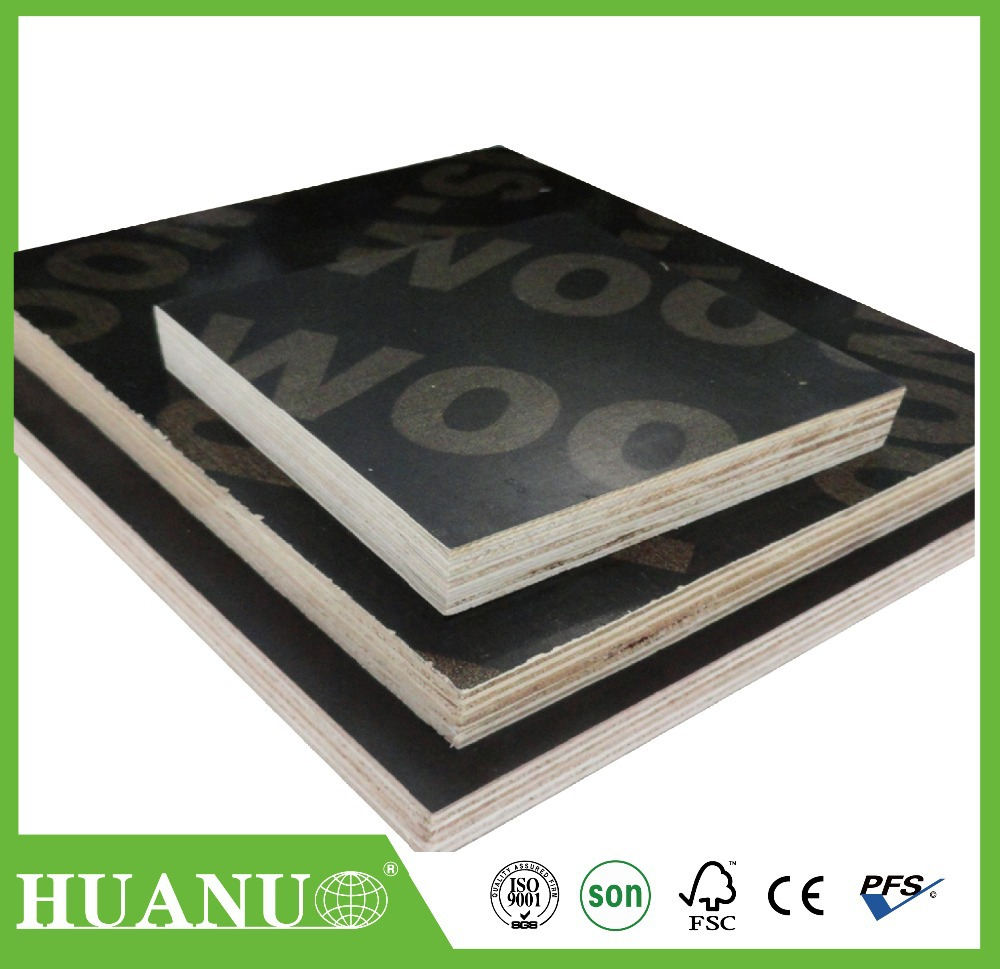 Top Quality Phenolic Board Green Film Faced Plywood And Pp Film