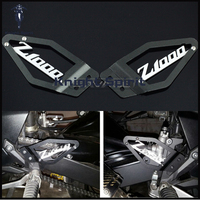 For KAWASAKI Z1000 Z 1000 2007 2008 2009 Motorcycle Accessories CNC Aluminum Foot Peg Heel Plates Guard Protector