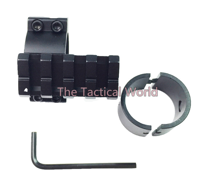 Tactical Hunting Aifsoft Shooting Scope Tube Barrel Mount 1 25mm 30mm Ring Adapter 20mm Weaver Picatinny