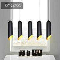 Artpad Vintage Industrial Style Pendant Lighting Dining Room Bar Coffee Shop E27 Suspension Luminaria pendente Lighting