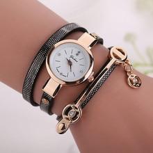 New Arrivals Fashiom Creative Woven Rope Chain Bracelet Watch Women Leather Woven Quartz Watch Girl Student Bracelet Watch