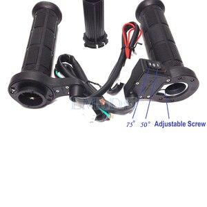 """Image 3 - LMoDri 1 Paar Motorrad Beheizte Griffe ATV Griff Wärmer Motorrad 7/8 """"22mm Elektrische Wärme Hand Grip 12V"""