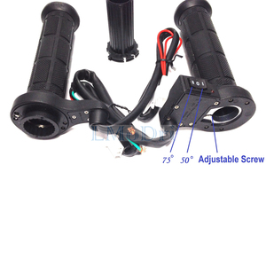 "Image 3 - LMoDri 1 Pair Motorcycle Heated Grips ATV Handle Warmer Motorbike 7/8"" 22mm Electric Heat Hand Grip 12V"