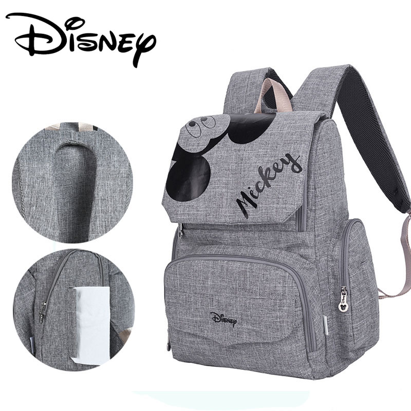 Disney Fashion Maternal Baby Diaper Bag For Mummy Mickey Minnie Diaper Backpack Stroller Bag Mickey Handbags Maternity BackpackDisney Fashion Maternal Baby Diaper Bag For Mummy Mickey Minnie Diaper Backpack Stroller Bag Mickey Handbags Maternity Backpack