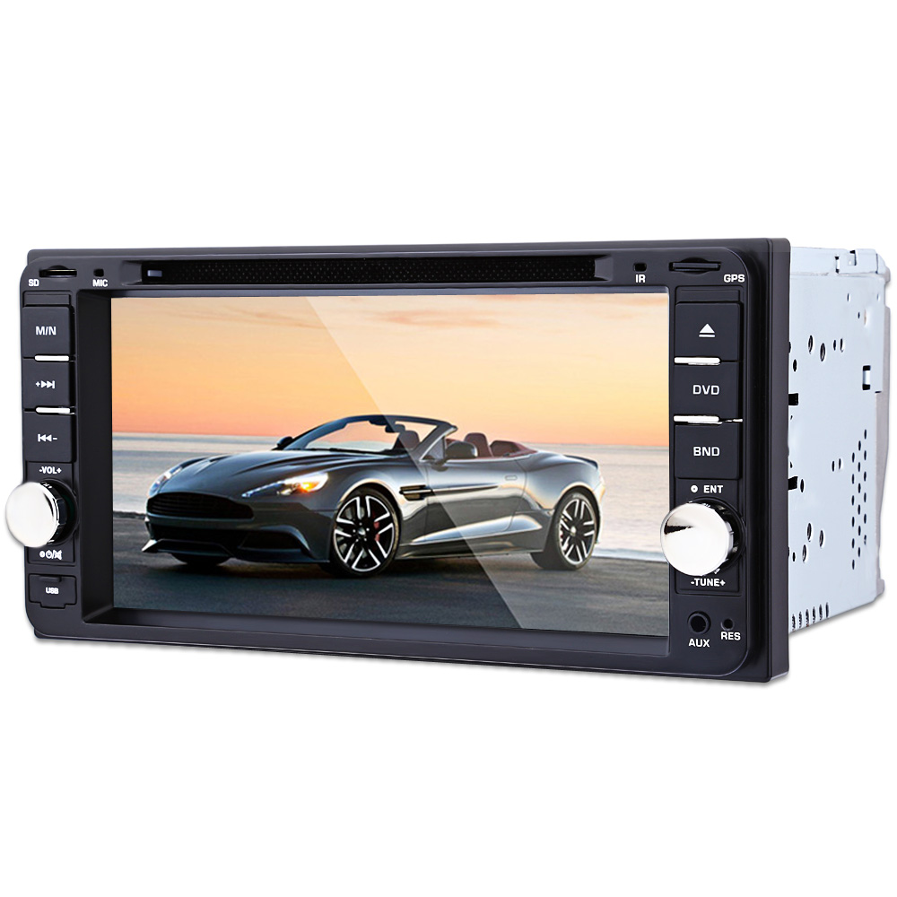 7 inch TFT Car DVD Player Auto Video Remote Control Bluetooth FM Radio 2din Car Radio Player Reversing Camera GPS Navigation Map auto android 6 0 car audio gps navigation 2din car stereo radio car gps bluetooth usb universal interchangeable player tv 8g map