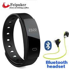 Bluetooth Smart Браслет QS80 браслет Heart Rate Сидячий напоминание мониторинг сна для IOS Android-смартфон