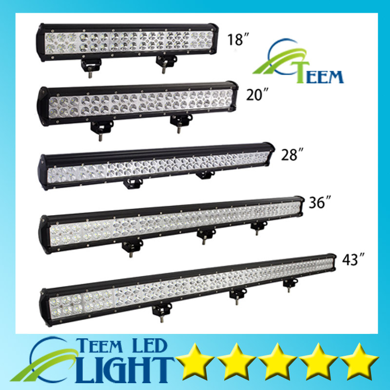 108W 126W 180W 234W 288W LED Work Light Bar for Indicators Driving Offroad Boat Car Tractor Truck 4x4 SUV ATV geruite 2pcs 234w waterproof led work light bar for indicators driving offroad boat car tractor truck 4x4 suv atv spot lighting