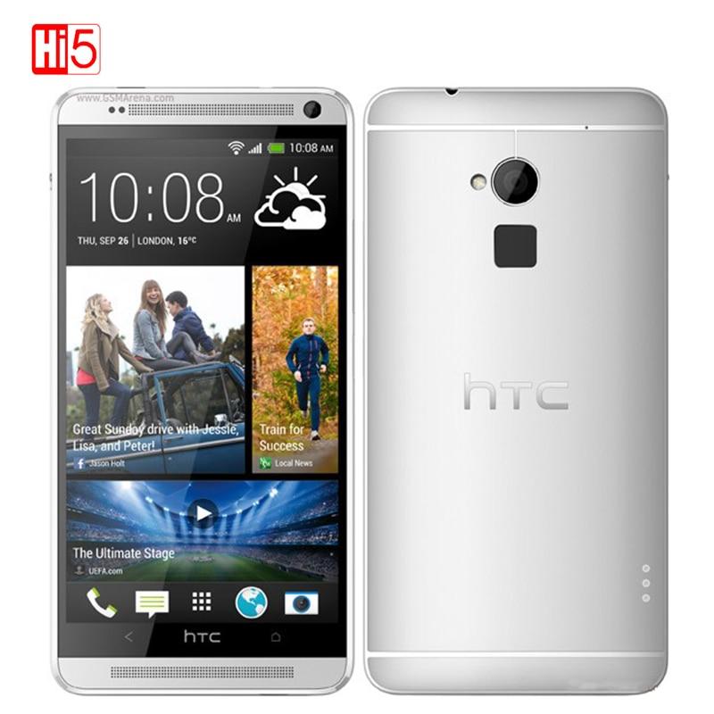 Unlocked HTC One Max Mobile Phone 16 32GB ROM 2GB RAM 3G 4G LTE Quad Core