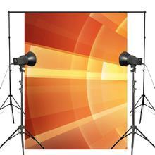 Fondo de Arte Abstracto fotografía fondos brillantes para foto estudio naranja accesorios de fondo 5x7ft