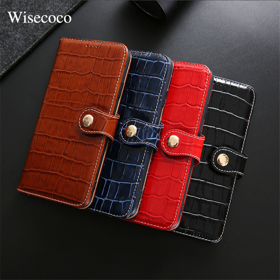 Luxury Wallet Case for Iphone Xs Max Xr X 8 7 Plus Genuine Leather Crocodile Pattern Magnetic Flip Book Card Holder Stand Cover