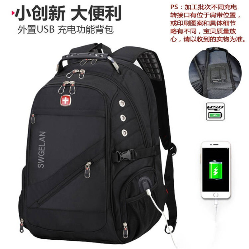 Red Cross Swiss Laptop Backpack For 17 Inch Computer Bag Men Backpack Multifunctional Boy Backpack Male Backpack Female Bag