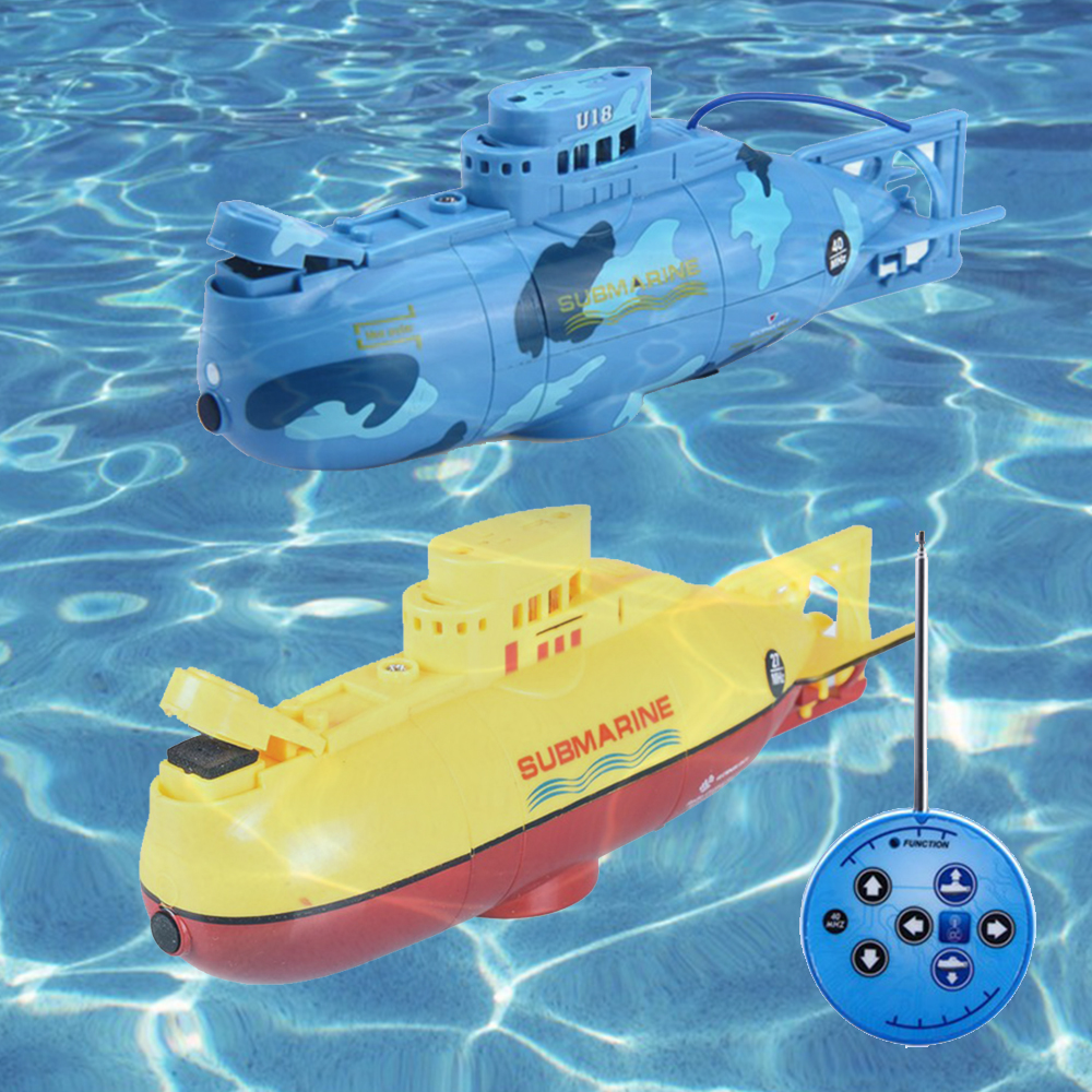 6CH Mini Submarine RC Ready to Run Speedboat Model High Powered 3.7V Large Model RC Submarine Outdoor Toys for Children 11.11