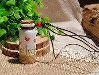 2 stks Keramische Essentiële olie Ketting, Fragrance flacon kettingen