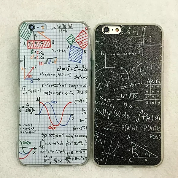 2 in 1 font b Calculation b font type Cases Soft Silicone TPU Frame with Backside