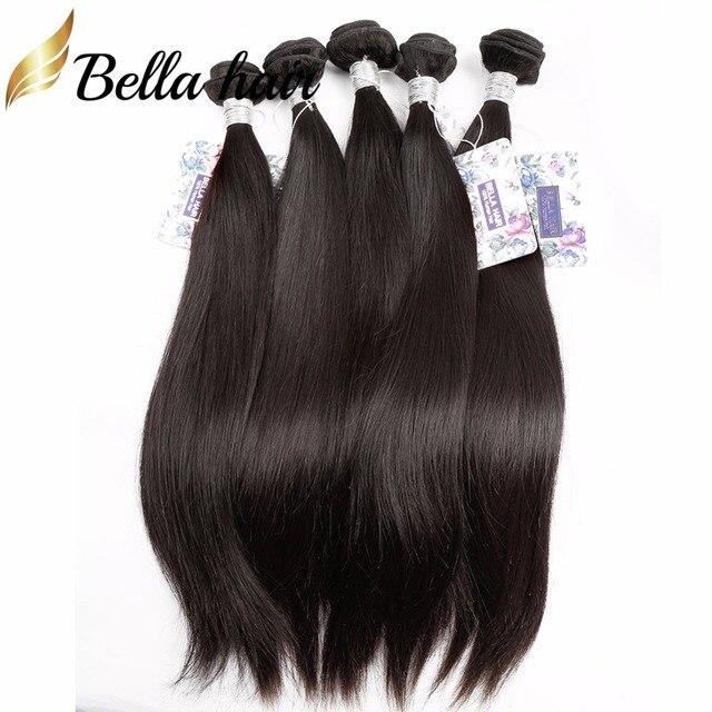 Bella Hair 5 Bundles 9a Brazilian Straight Hair 100 Human Hair