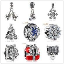 hot Silver European CZ Charm Beads Fit Pandora Style Bracelet Pendant Necklace DIY Jewelry Originals