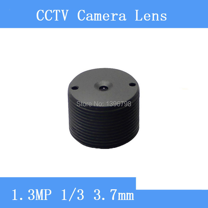 PU`Aimetis Infrared surveillance camera 1.3MP cylindrical shaped pinhole lens 3.7mm M12 thread CCTV lenses pu aimetis cctv lenses 3mp 1 2 7 hd 2 8mm surveillance camera 120 degrees wide angle infrared m12 lens thread