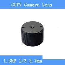 Infrared surveillance camera 1.3MP cylindrical shaped pinhole lens 3.7mm M12 thread CCTV lenses