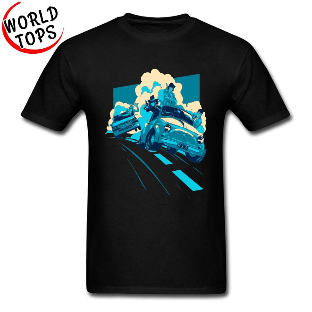 Lupin Third Rupan Sansei Comic T-Shirt Japanese Anime Funny Tshirts Printing 3D Summer Sweater Top Quality Clothing Shirts