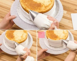 Image 4 - גדול במיוחד ציפוי צנרת חרירי עוגת קישוט עוגות טיפ סטי יצק עוגת כלים פלדת זרבובית סט DIY עוגת קישוט טיפים se