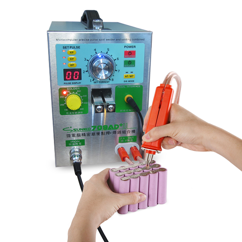 Tools : HB-70B Pulse spot welder spot welding pen Battery spot welding pen use for 18650 polymer battery welding for 709A 709AD series