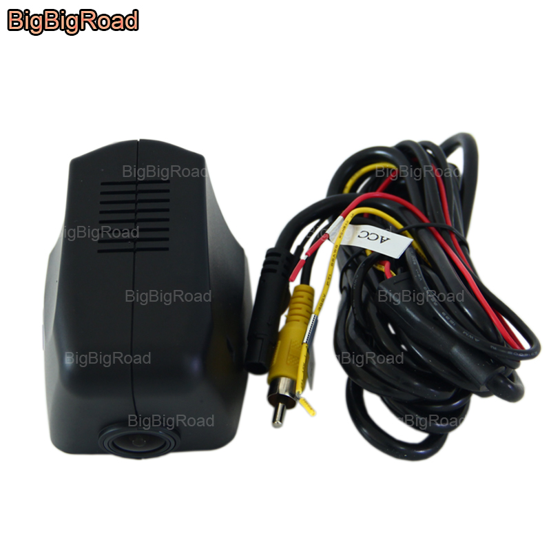 BigBigRoad For Porsche Macan / Cayenne / Cayman / 911 Carrera / 918 spyder Wifi Car DVR car black box dash camera Video Recorder фаркоп porsche macan 2013 без электрики фаркоп porsche macan 2013 без электрики 2 ро