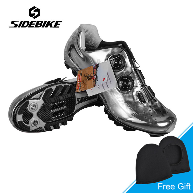 Sidebike New Carbon MTB Bike Shoes Auto-lock Ultralight Cycling Shoes Mountain Bike Athletic Riding Shoes Zapatillas Ciclismo new sidebike breathable carbon athletic cycling shoes bike bicycle shoes racing mtb shoes zapatillas zapato ciclismo