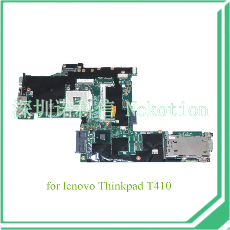 NOKOTION FRU 04W0511 For lenovo Thinkpad T410 motherboard QM57 DDR3 Nvidia Quadro NVS 3100M graphics nokotion fru 04w6824 for lenovo thinkpad t530 laptop motherboard nvs 5400m graphics qm77 ddr3