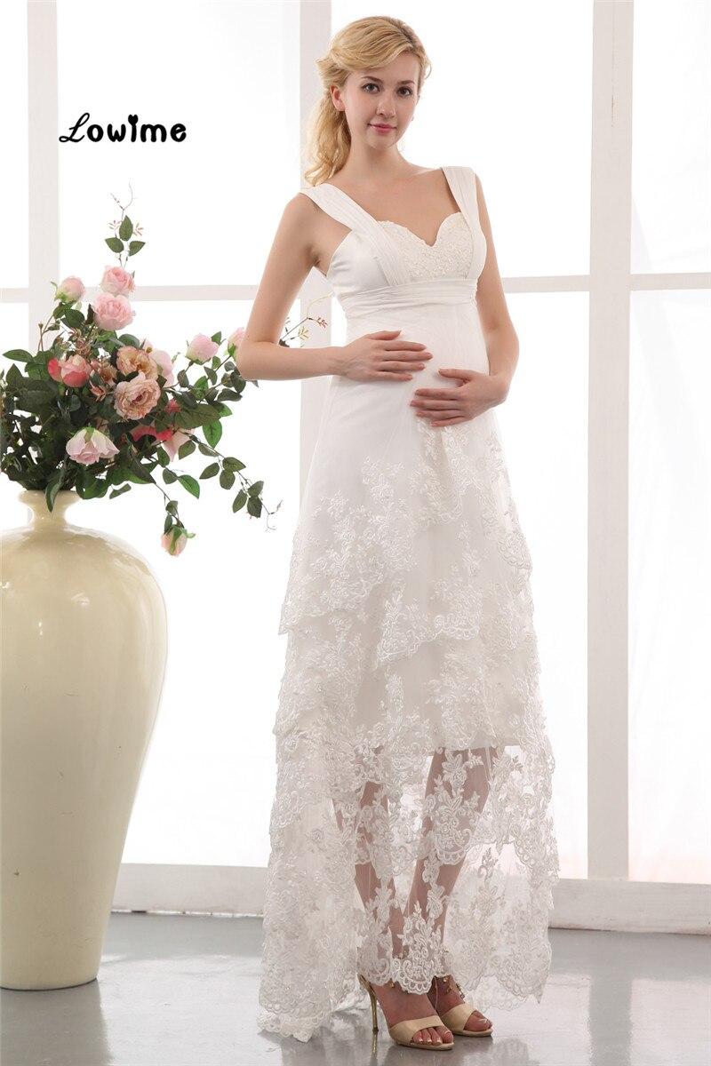 Günstige Neueste Sexy Boho Chic Strand Spitze Hochzeit Brautkleid ...