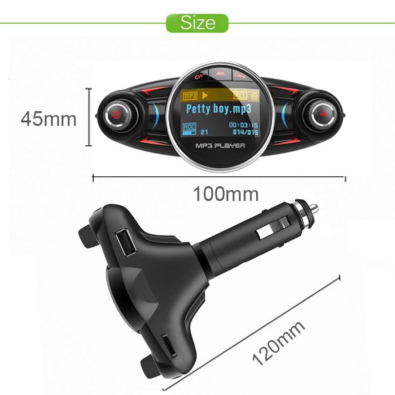 Car Bluetooth Player AUX Modulator
