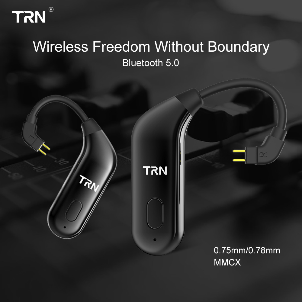 TRN BT20 Bluetooth upgrade ears 5 0 Bluetooth ears upgrade cable running Bluetooth headset cable V80