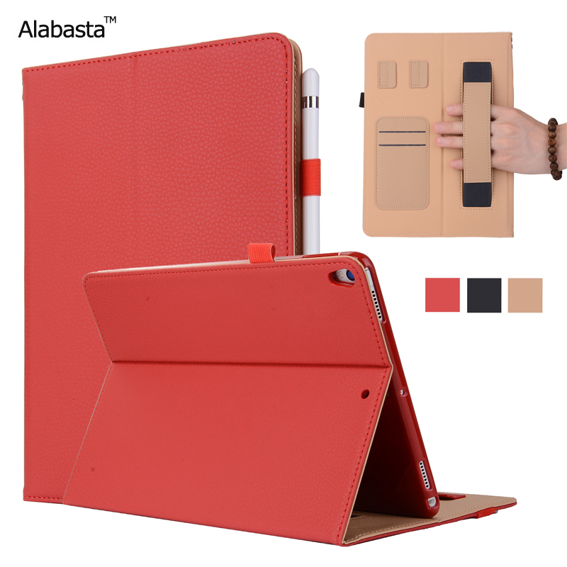 Alabasta For Funda iPad mini 4 case Leather Skin Surface Flip Stand Case Credit Card Pouch Silicone Inner Protector With stylus