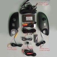 360 Degree Bird View Panorama System surround view system Special for Toyota Prado Land Cruiser Car DVR Recording
