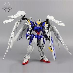 Image 1 - COMIC CLUB instock MJH mojianghun hirm style version wing gundam zero ew MG 1/100 action assembly figure robot toy