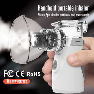Image 2 - Yonker tıbbi yeni nebulizatör el astım Inhaler Atomizer çocuklar için sağlık usb mini taşınabilir nebulizatör