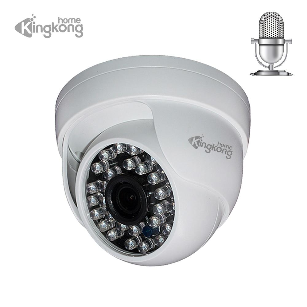 Kingkonghome H.264 IP Camera 1080P security Built-in Microphone Audio Surveillance night vision cctv  indoor dome camera ipKingkonghome H.264 IP Camera 1080P security Built-in Microphone Audio Surveillance night vision cctv  indoor dome camera ip
