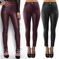 Women Leather Leggings High Quality Women Sexy Leggings Trousers Wet Look Slim Fit leggings
