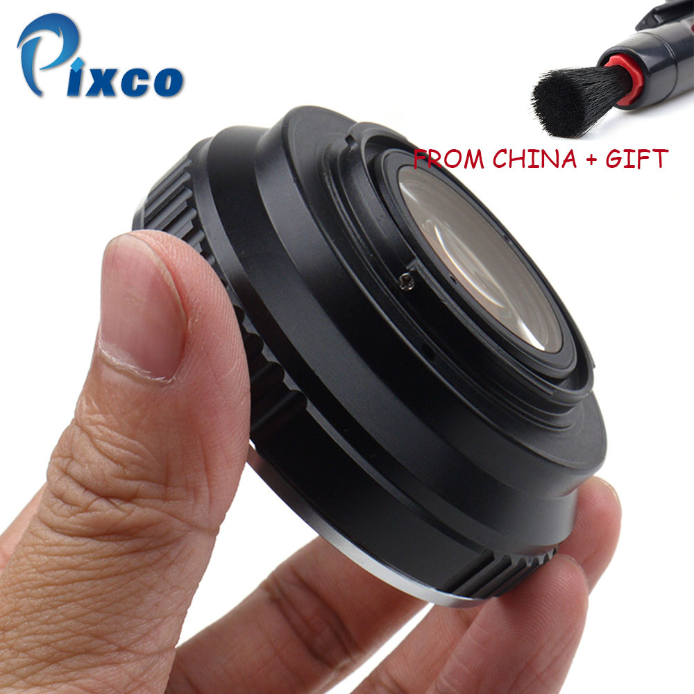 ADPLO DropShipping For EOS - FX Focal Reducer Speed Booster, Suit for EOS Lens to Suit for Fujifilm X Camera For Fujifilm X-A5 цена и фото