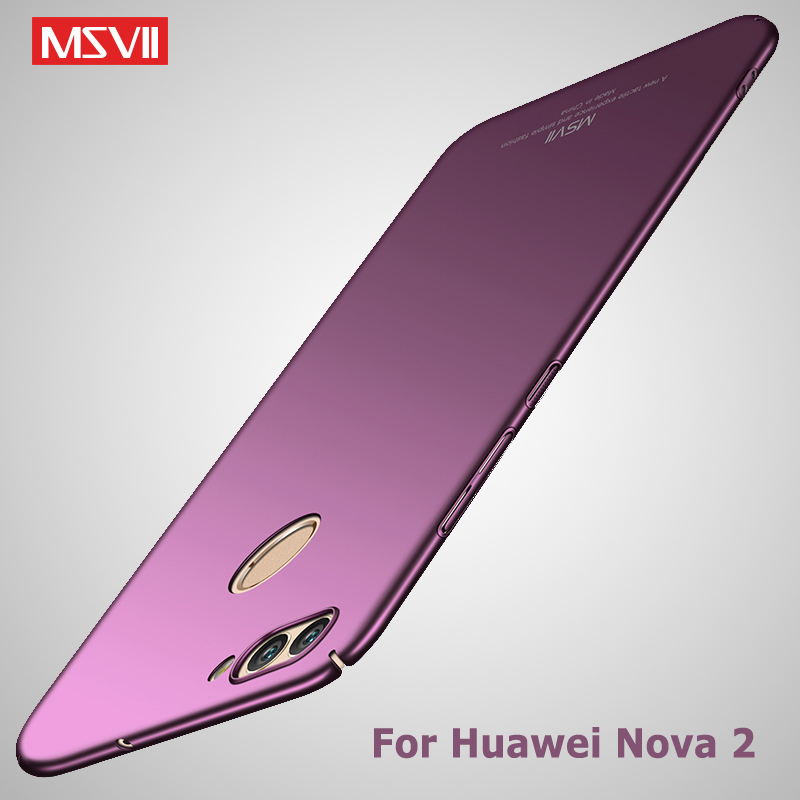 US $3 69 26% OFF|Msvii Cover For Huawei Nova 2 Case Ultra Thin Matte Coque  For Huawei Nova 2s Case Nova 2 S Hard PC Cover For Huawei Nova 2i Case-in