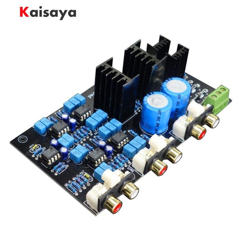 Peut ajuster/personnalisé 2 gamme 2 voies haut-parleur actif diviseur de fréquence croisé linkwitz-riley Circuit carte DSP A8-014