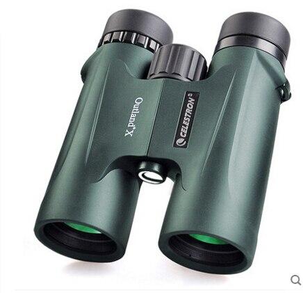 Celestron binoculars telescope Outland X 8 42 Waterproof portable viewing The multilayer film green optical coating