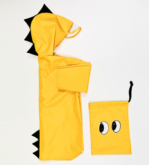 Dwayne schattige kleine dinosaurus waterdichte polyester regenjas - Kinderkleding - Foto 2