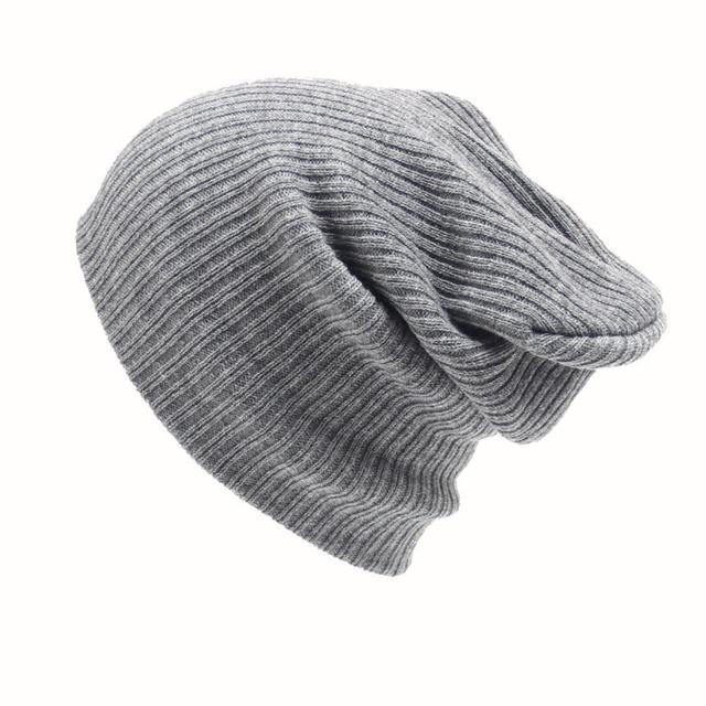 Men s Women Beanie Knit Ski Cap Hip-Hop Winter Warm Unisex Wool Hat trendy solid  unisex winter warm outdoor hiking caps 953d591f8cf9